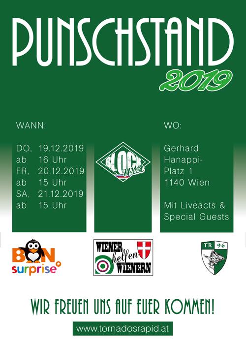 Flyer Punschstand 2019 Front