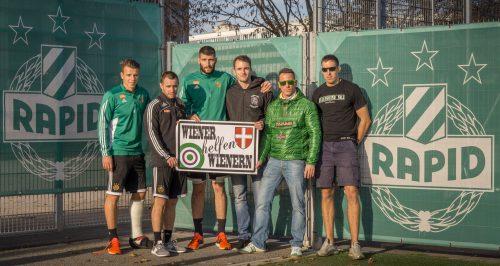 Botschafter der Mannschaft mit Fanvertretern